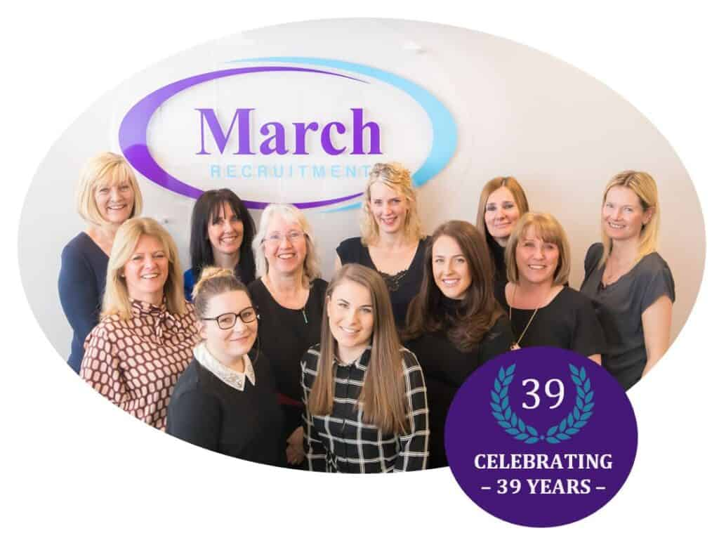 March Recruitment Team